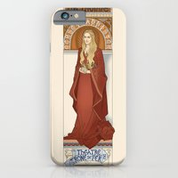 iPhone & iPod Case featuring The Lioness by ElinJ