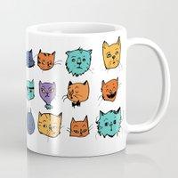 Stylish Cats Mug