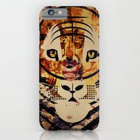 iPhone & iPod Case featuring Tiger by Thefunctionalfox