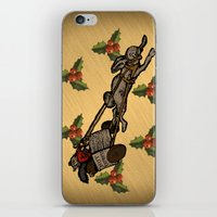 Christmas on the Nut Express iPhone & iPod Skin
