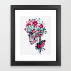 SKULL XIII Framed Art Print