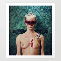 Stitching Wounds Art Print