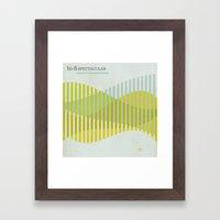 Jazz Revival Collection - Waves Framed Art Print