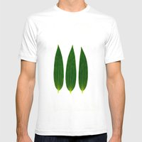 Three Of A Kind 1 Mens Fitted Tee White SMALL