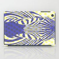 BLUE ZEBRA iPad Case