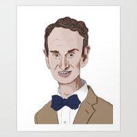 The Science Guy Art Print