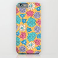 iPhone & iPod Case featuring RocoFloral (mango) by MaJoBV