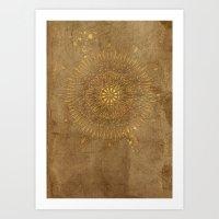Prairie Mandala Art Print