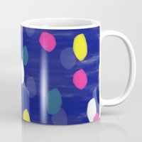 Spotty Blue Mug