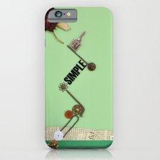 the rose  spring iPhone 6 Slim Case
