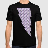 SNES On Repeat : True Colors Mens Fitted Tee Black SMALL