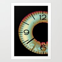 Time Waits For Nobody Art Print