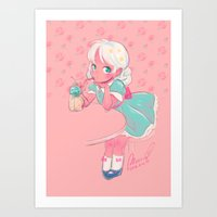 sassy doll Art Print