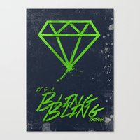 The BlingBling Thing Canvas Print