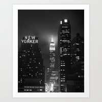 Empire State Building At… Art Print