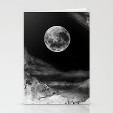 Between Two Moons Stationery Cards