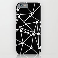 iPhone & iPod Case featuring Abstract Heart Zoom Black by Project M