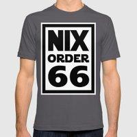 Nix Order 66 Mens Fitted Tee Asphalt SMALL