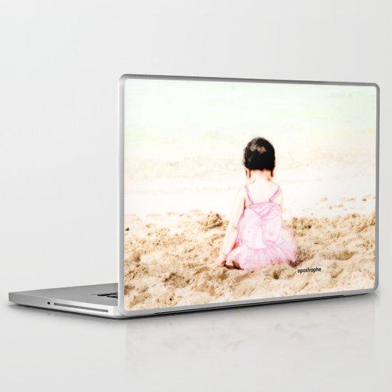 Baby at Beach Laptop & iPad Skin