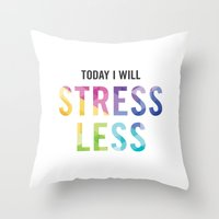 New Year's Resolution - … Throw Pillow