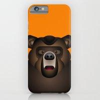 iPhone & iPod Case featuring Bear by Alejandro de Antonio Fernández