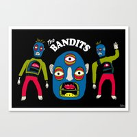 The Bandits Canvas Print