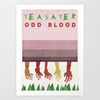 Yeasayer Art Print