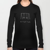 Don't forget to play - red Long Sleeve T-shirt