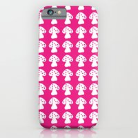 mushroom pink iPhone 6 Slim Case