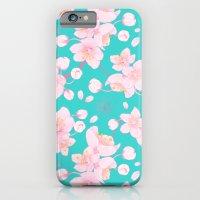 iPhone & iPod Case featuring sakura blossoms by Amanda Jonson