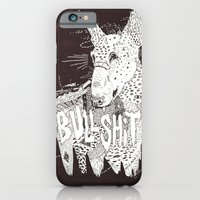 iPhone & iPod Case featuring BULL  by Michael Todd Berland