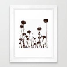 FLOWER 030 Framed Art Print