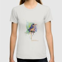 Nature does not hurry Womens Fitted Tee Silver SMALL