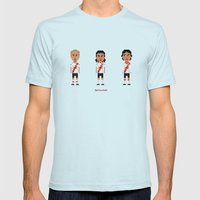 River Plate Mens Fitted Tee Light Blue SMALL
