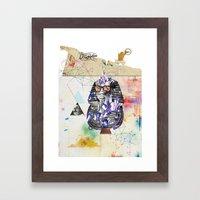 Tuts Formation Framed Art Print