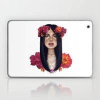 Burnt Flowers Laptop & iPad Skin