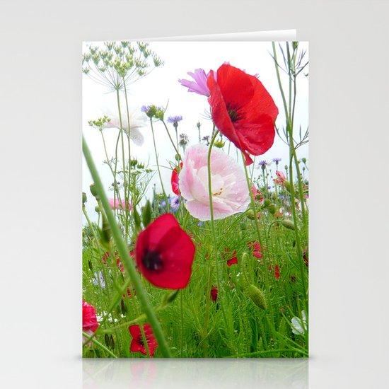 flower meadow Stationery Card