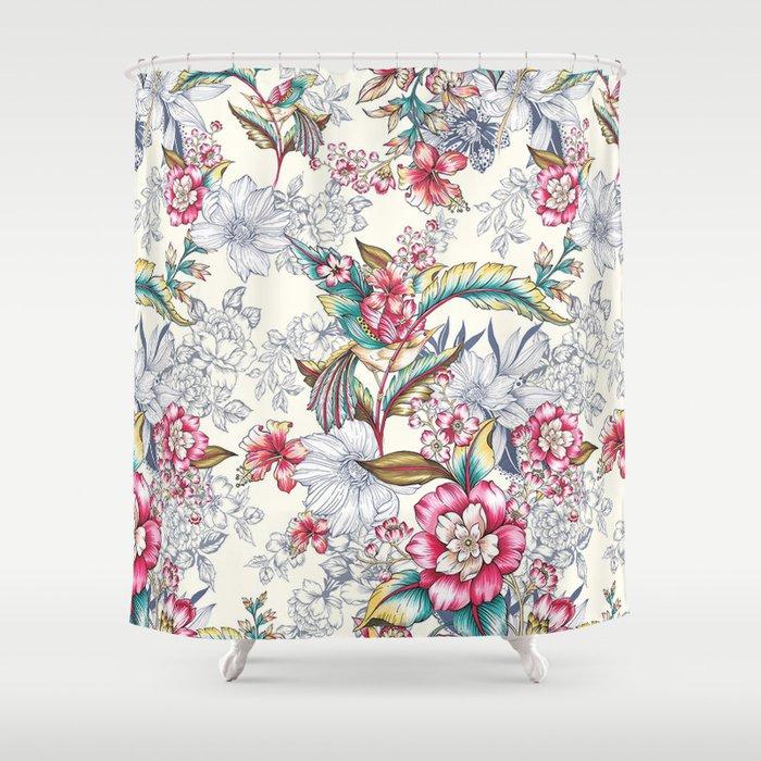Bird Of Paradise Shower Curtain By Gemma Hodgson Design Society6