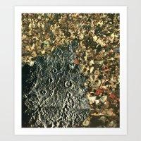 The Space Between Art Print