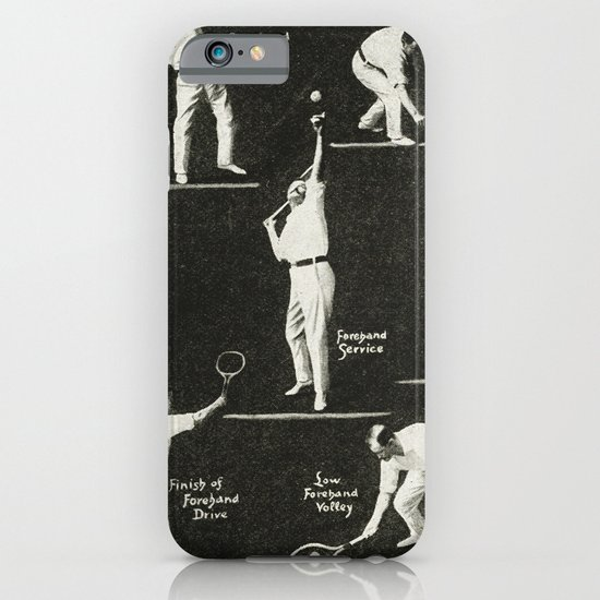 gentlemen prefer tennis iPhone & iPod Case