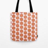 Spring Floral Pattern Tote Bag