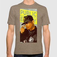 Chuck D Mens Fitted Tee Tri-Coffee SMALL