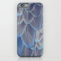 Silver Feathers iPhone 6 Slim Case