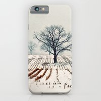 iPhone & iPod Case featuring Winter Farm by elle moss