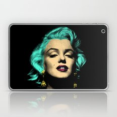 MARILYN BLUE Laptop & iPad Skin