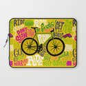 RIDE YOUR BIKES Laptop Sleeve