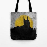 Night Of Justice Tote Bag