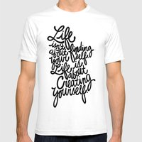 George Bernard Shaw Mens Fitted Tee White SMALL