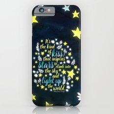 Shatter Me - Stars quote design iPhone 6 Slim Case