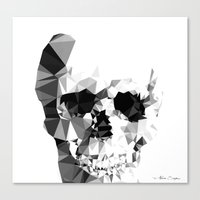 Crystal Skull Canvas Print